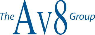 The AV8 Group Logo